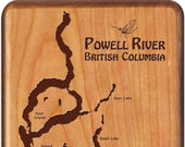 POWELL RIVER Map Fly Box ...