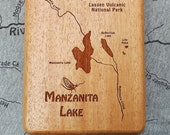 MANZANITA LAKE River Map ...