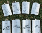GROOMSMEN GIFT FLASKS - P...