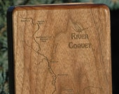 RIVER COQUET River Map Fl...