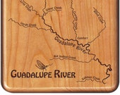 GUADALUPE River Map Fly B...