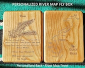 BLACK RIVER Map Fly Box -...