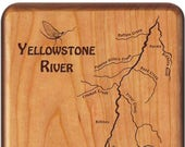 Yellowstone River Map Fly...