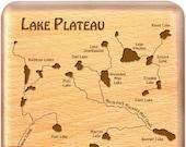 Lake Plateau River Map Fl...