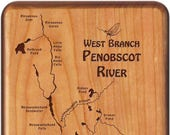 Penobscot River Map Fly B...