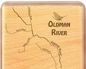 OLDMAN River Map Fly Box ...
