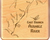 AUSABLE, East Branch, Riv...