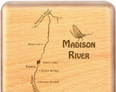 MADISON RIVER Map Fly Box...