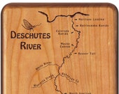 DESCHUTES RIVER Map Fly B...