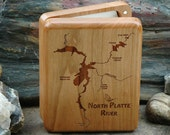 NORTH PLATTE River Map Fl...