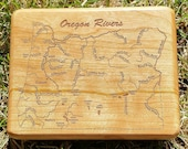 OREGON RIVERS Map Fly Box...