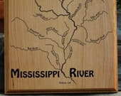 MISSISSIPPI RIVER MAP Pla...