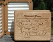 MONTANA RIVERS Map Fly Bo...