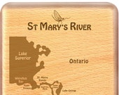 ST MARY'S RIVER Map F...