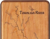 TOWALIGA RIVER Map Fly Bo...