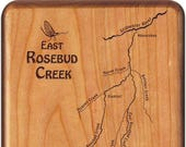 East Rosebud Creek River ...