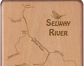 SELWAY RIVER Map Fly Box ...