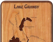 LAKE GRANBY COLORADO Rive...