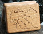 LAKE TAUPO River Map Fly ...