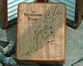NEVERSINK RIVER MAP Fly B...