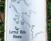Little Red River Map FLAS...