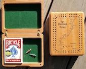 Custom CRIBBAGE BOX Perso...