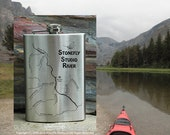 River Map FLASK for WHISK...