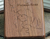 River Map Fly Box -WATAUG...