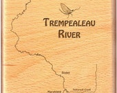 TREMPEALEAU RIVER MAP Fly...