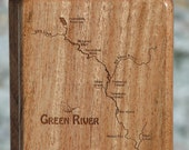 GREEN RIVER Map Fly Box, ...