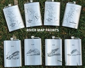 River Map FLASK PERSONALI...