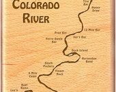 COLORADO RIVER Map Fly Bo...