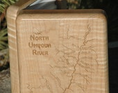 NORTH UMPQUA River Map Fl...