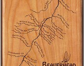 BEAVERHEAD RIVER MAP Fly ...