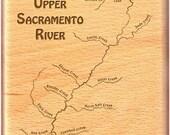 UPPER SACRAMENTO RIVER Ma...