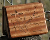 Trinity River Map Fly Box...