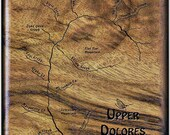 UPPER DOLORES RIVER Map F...