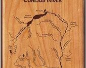 CONEJOS RIVER Map Fly Fis...