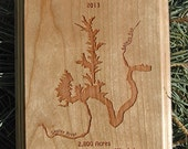 LAKE-RIVER MAP Plaques �...