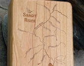 SKAGIT RIVER Map Fly Box ...
