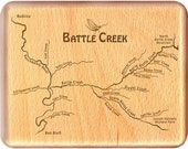 BATTLE CREEK River Map Fl...