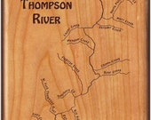 THOMPSON RIVER MAP Fly Bo...
