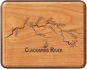 CLACKAMAS RIVER MAP Fly F...