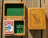 Wildlife CRIBBAGE BOX Per...