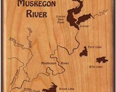 River Map Fly Box-MUSKEGO...