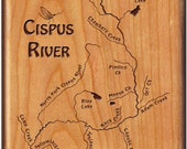 Upper CISPUS RIVER Map Fl...