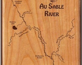 AU SABLE RIVER Map Fly Fi...