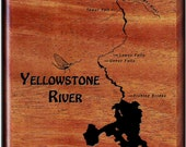 YELLOWSTONE RIVER MAP - Y...