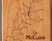 McCloud River Map Fly Box...