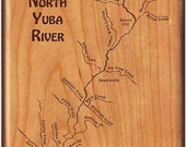 NORTH YUBA River Map Fly ...